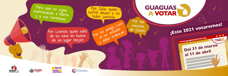 Guaguas a votar1